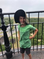 Atop the Cape Hatteras Lighthouse