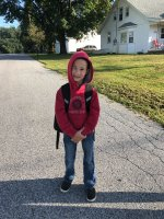 JH's first day of first grade